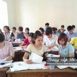 Buổi học Chuyên đề thực tế ngành Kế toán trường Trung cấp Đông Đô
