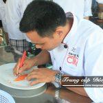 Buổi học lớp Trung cấp Nấu ăn trường Trung cấp Đông Đô