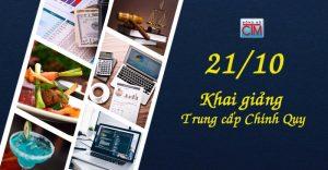 Khai giảng khóa trung cấp chính quy 21/10/2017 - Tuyển sinh Đông Đô - Trung cấp Đông Đô