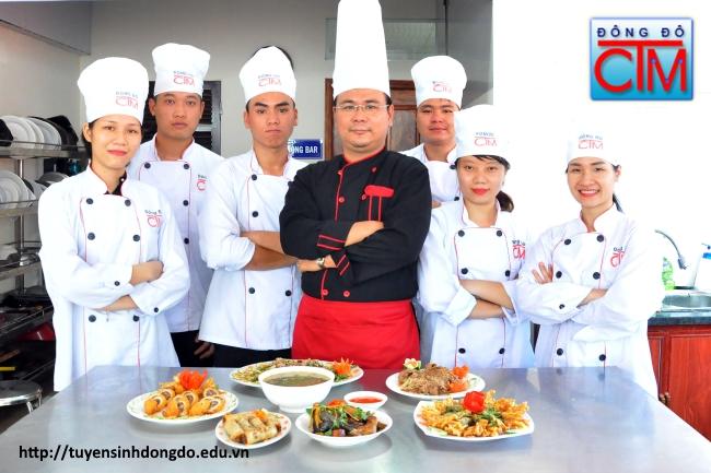 Chương trình đào tạo ngành Nấu ăn trường Trung cấp Đông Đô tập trung đào tạo tay nghề đầu bếp cho sinh viên - Tuyển sinh Đông Đô