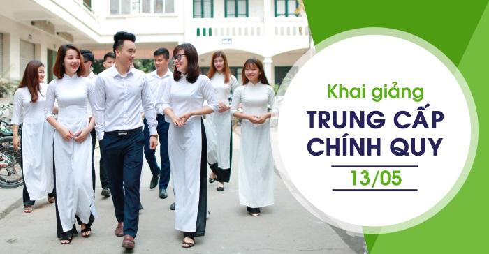 khai giảng trung cấp chính quy 13/05/2018 - Trung cấp Đông Đô - Tuyển sinh Đông Đô