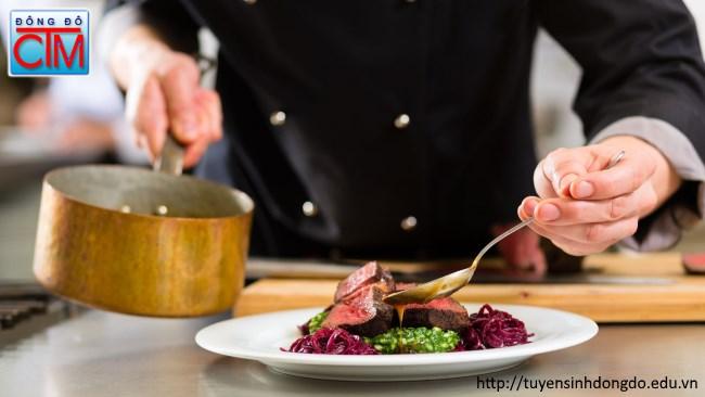 Kỹ năng tay nghề rất quan trọng trong ngành Nấu ăn - Tuyển sinh Đông Đô