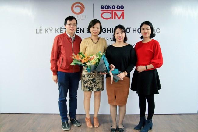Lễ ký kết hợp tác giữa Công ty Cổng Vàng và trường Trung cấp Đông Đô 1 - Tuyển sinh Đông Đô