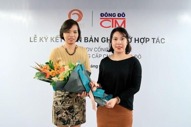 Lễ ký kết hợp tác giữa Công ty Cổng Vàng và trường Trung cấp Đông Đô 5 - Tuyển sinh Đông Đô
