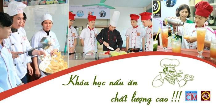 Khóa học Trung cấp Nấu ăn chất lượng cao - Trung cấp Đông Đô