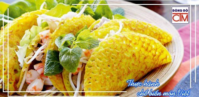Mô đun 2: Thực hành chế biến món Việt (Đầu bếp Việt)