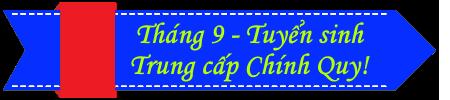 Tuyển sinh Trung cấp Chính quy tháng 9 banner - Trung cấp Đông Đô