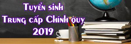 banner truyển sinh trung cấp chính quy 2019 trường Trung cấp Đông Đô