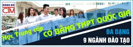 banner học trung cấp có bằng tốt nghiệp THPT Quốc gia trường Trung cấp Đông Đô