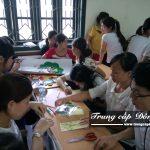 Buổi học chuyên đề thực tế ngành Thư viện - Thiết bị trường học trường Trung cấp Đông Đô
