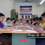 Buổi học Chuyên đề thực tế ngành Hành chính văn phòng trường Trung cấp Đông Đô