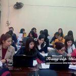 Lớp học Trung cấp Kế toán trường Trung cấp Công nghệ và Quản trị Đông Đô