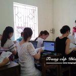 Buổi học Chuyên đề thực tế ngành Kế toán trường Trung cấp Công nghệ và Quản trị Đông Đô