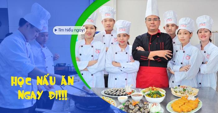 Học Nấu ăn - Không lăn tăn thất nghiệp - Trung cấp Đông Đô - Tuyển sinh Đông Đô