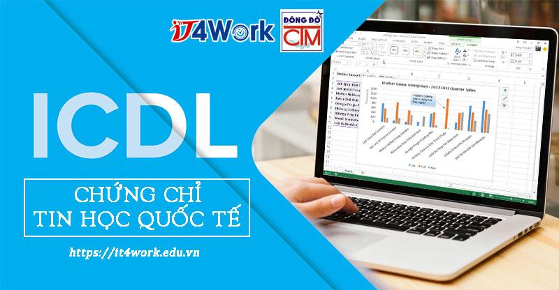 chứng chỉ tin học quốc tế ICDL tại trường Trung cấp Công nghệ và Quản trị Đông Đô
